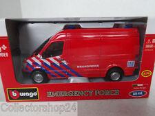 Bburago : Mercedes-Benz Sprinter Fire department  Netherlands 1:50 New