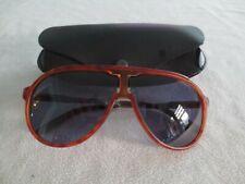 Carrera brown / gunmetal sunglasses. NEW CHAMPION VROKU. With case.