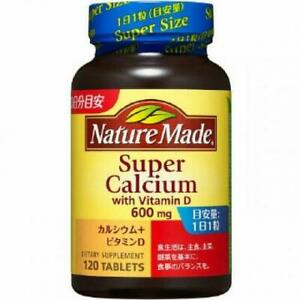 ☀Otsuka Nature Made Super Calcium Vitamin D 120 Tablets Feom Japan F/S