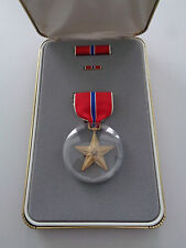 US Bronze Star Original im Etui aus Nachlass Marine Corps Chandler Gravur !!