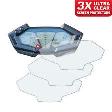 3 x panel de Kawasaki Z800 2012+ protector de pantalla: Ultra Claro
