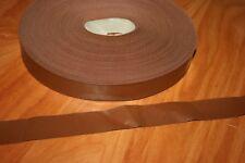 10 Mètres de RUBAN SIMILI CUIR LARGEUR 30 mm COULEUR MARRON