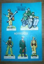 SOLDATINI DI CARTA STACCABILI - LE GRANDI BATTAGLIE   NORMANDIA - PAPER SOLDIERS