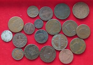 COLLECTION LOT GERMAN STATES 19PC 69G #xx37 009