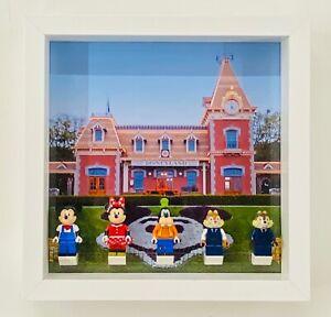 Display Frame for Lego Disney train station minifigures 71044 no figures 25cm