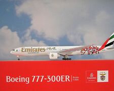 Herpa Wings 1:500 Boeing 777-300ER  Emirates  Benfica Lissabon  Modellairport500