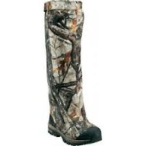 Cabela's Instinct LOCKDOWN 1200 GM PRIMALOFT BOA Hunting Boots MEN 8.5 TALL CAMO