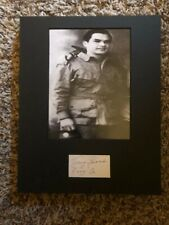 Tony Garcia Band Of Brothers 101st Airborne E Co autographed signed Photo
