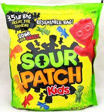 Sour Patch Kids Candy Original Chewy Gummy Candies Bulk 3.5 lb Resealable Bag