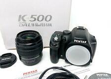 Pentax k-500 16.3mp DSLR with poiché L 18-55 al 1:3. 5-5.6 Lens
