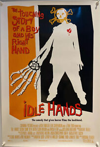 Idle Hands US One Sheet DS (1998) Original Film Poster ROLLED