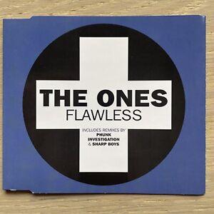 The Ones - Flawless - CD Single VGC - Phunk Investigation Sharp Boys