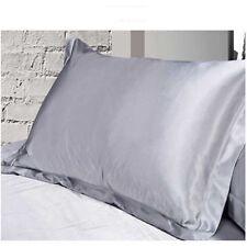 Queen/Standard Silk~y Satin Pillow Case Multi Colors Bedding Pillowcase Smooth