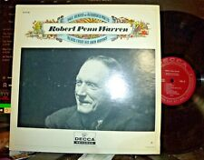 ROBERT PENN WARREN Reads from His Own Works LP NM/VG+ DECCA w HP YALE Series