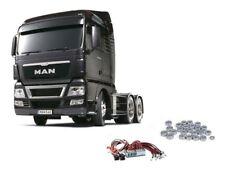 Tamiya Truck MAN TGX 26.540 Gun Metal Edition + LED, Kugellager #56346LEDKU
