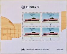 Bloc Feuille Timbre Stamp Açores YT BF 8 EUROPA CEPT Neuf 1987