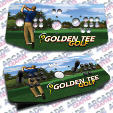 Golden Tee Golf X Arcade Artwork Tankstick Overlay Graphic Sticker