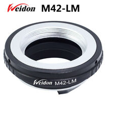 Weidon  M42 Lens to Leica M LM Mount Adapter for  M240 M9 with TECHART LM-EA7