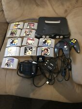 nintendo 64 With 11 Games And Three Controllers
