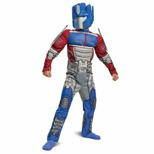 Disguise Transformers Optimus Prime Boys 2-Piece Muscle Halloween Costume: M-L