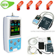 Pm50 Portable Patient Monitor Vital Signs Nibp Spo2 Pulse Rate Meterfda Ce New