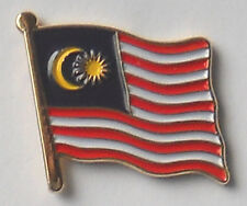 Malaysia Country Flag Enamel Pin Badge