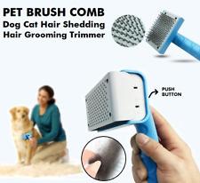 Pet Dog Cat Hair Grooming Shedding Trimmer Slicker Undercoat Rake Brush Comb