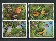 Cook 1278/81 postfrisch / WWF - Vögel ....................................1/1716