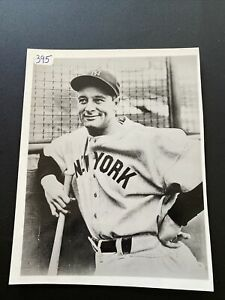 Ny Yankees- Lou Gehrig Game Day-Type 2 Photo