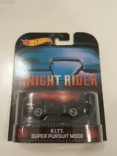 Hot Wheels Knight Rider *K.I.T.T. Super Pursuit Mode* Retro Entertainment