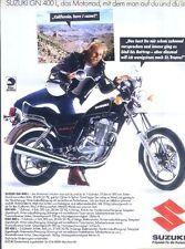 SUZUKI GN 400 L la moto con cui si su tu e tu è