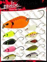 Ondulante Molix trout Spoon gr.3,5 artificiale monoamo trota lago cava area game