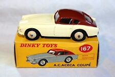 Dinky 167 AC Aceca Exceptional in Good Original Box