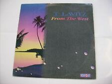 T LAVITZ - FROM THE WEST - LP VINYL 1987 EXCELLENT CONDITION