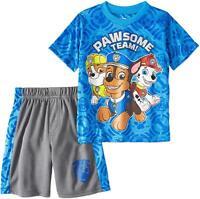 Nickelodeon Paw Patrol Toddler Boys' T-Shirt & Mesh Shorts Clothing Set