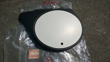 Kawasaki 74-76 KX125 LH Side Cover NOS Flat Black NOS Genuine P/N 36001-047-21