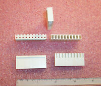 QTY 1-640250-4 AMP 14 POSITION SL156  CRIMP HOUSING RECEPTACLE 3.96mm 20