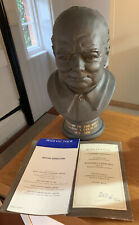 More details for royal doulton black bassalt bust of sir winston churchill limited edition of 750