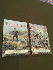 Set of Two Books Rebels & Yankees The Battlefields & The Commanders Of Civil War