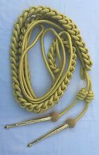 Army Aiguillette Gold Wire Cord/Officer US Military/British Navy Aiguillette