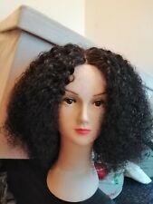 Brazilian Afro kinky human hair lace wigs