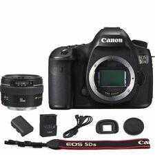 Canon EOS 5DS DSLR Camera + EF 50mm f/1.4 USM Lens