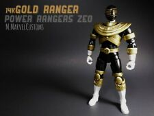 Saban's Power Rangers Zeo Legacy Collection GOLD RANGER CUSTOM PAINTED