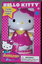 """HELLO KITTY """"bobblepop"""" bobblehead (red) with candy surprise inside NEW!"""