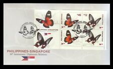 Philippines Stamps 2019 RP-Singapore Butterflies FDC