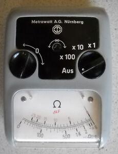 Metrawatt Ohmmeter und Kapazitätsmessgerät
