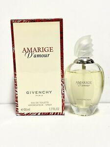 Amarige D'Amour by Givenchy 50ml/1.7oz EDT Spray 90% FULL *DISCONTINUED* (HE33