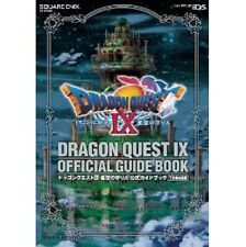 Dragon Warrior (Quest) IX Official Guide Book Gekan knowledge / DS