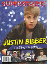 SUPERSTARS, JUSTIN BIBER  THE STORY CONTINUES   DISPLAY UNTIL DECEMBER,07th 2012