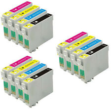 12 Ink Cartridges for Epson XP-102 XP-202 XP-305 XP-405 XP-215 XP-212